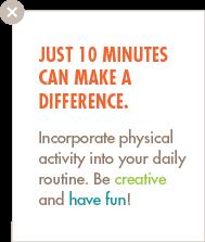 Physical Activity blurb