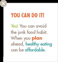 Avoid Junk Food blurb