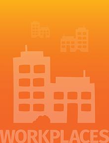 workplaces header graphic orange
