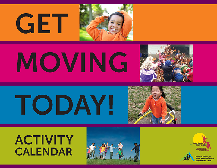 Get Moving Today! activity calendar cover