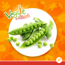 Veggie of the Month - peas