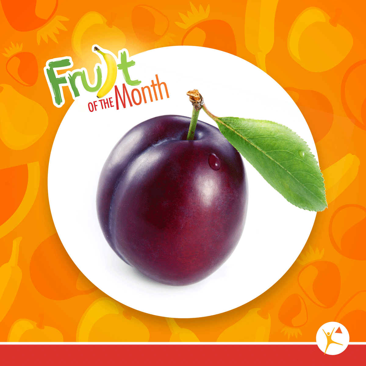 plums, fruit of the month